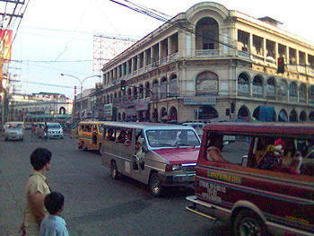 Calle Real district iloilo City